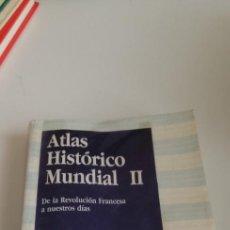 Libros de segunda mano: G-31 LIBRO ATLAS HISTORICO MUNDIAL II. HERMANN KINDER WERNER HILGEMANN. ITSMO COLECCION FUNDAMEN. Lote 214560138