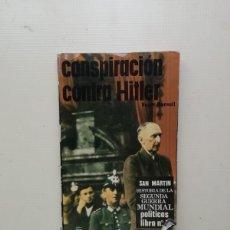 Libros de segunda mano: CONSPIRACIÓN CONTRA HITLER. Lote 214589660