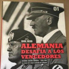 Livres d'occasion: ALEMANIA DESAFÍA A LOS VENCEDORES - BIBLIOTECA EL MUNDO. Lote 214669240