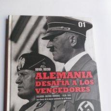 Libros de segunda mano: ALEMANIA DESAFÍA A LOS VENCEDORES . HISTORIA MILITAR. Lote 214842776