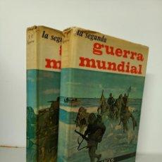 Libros de segunda mano: LA SEGUNDA GUERRA MUNDIAL, DOS TOMOS, HISTORIA / HISTORY, LIBRERIA EDITORIAL ARGOS, 1961. Lote 215986973
