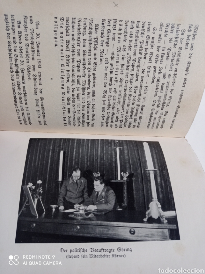 Libros de segunda mano: Hermann Göring lote RARO! Luftwaffe Alemania nazi Wehrmacht esvástica Adolf Hitler WWII - Foto 4 - 218846386