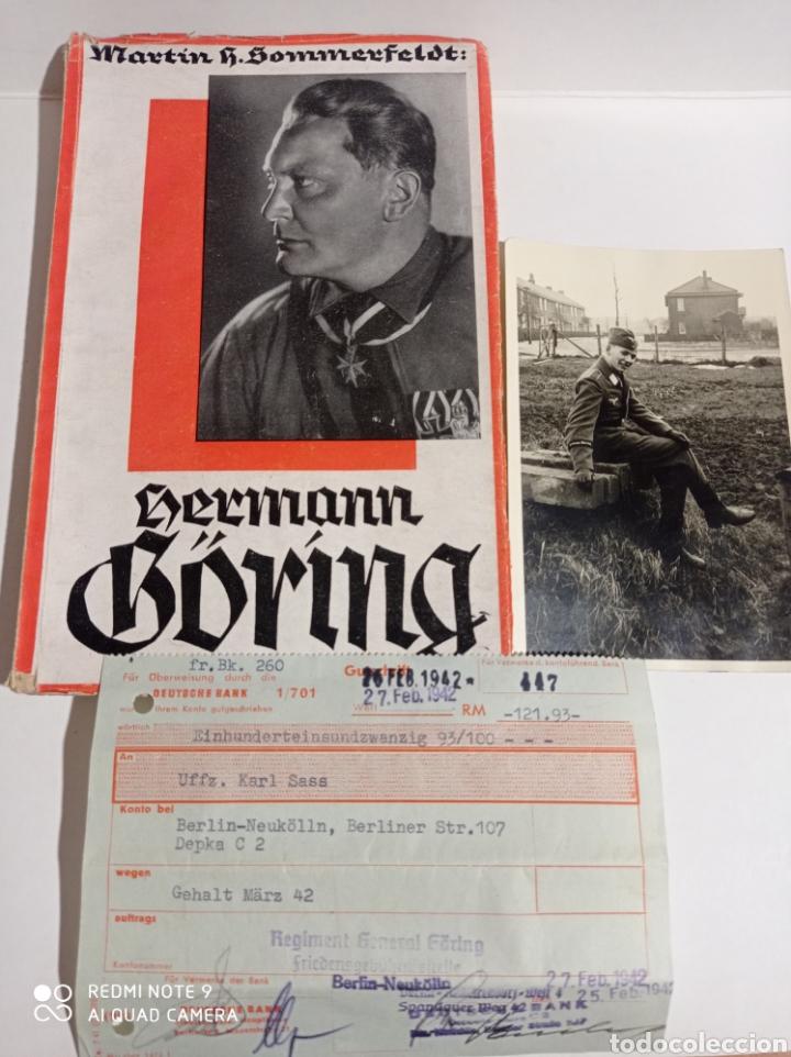 HERMANN GÖRING LOTE RARO! LUFTWAFFE ALEMANIA NAZI WEHRMACHT ESVÁSTICA ADOLF HITLER WWII (Libros de Segunda Mano - Historia - Segunda Guerra Mundial)