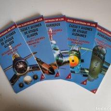 Libros de segunda mano: LIBROS. GUIA ILUSTRADA DE AVIONES DE LA SEGUNDA GUERRA MUNDIAL. 5 TOMOS. EDITORIAL FOLIO. Lote 219305703