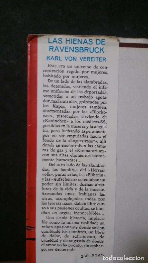 Libros de segunda mano: LAS HIENAS DE RAVENSBRUCK-KARL VON VEREITER - Foto 3 - 220261900