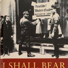 Libros de segunda mano: I SHALL BEAR WITNESS. THE DIARIES OF VICTOR KLEMPERER 1933-41. LONDON, 1998. TEXTO EN INGLÉS.. Lote 220384510