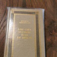 Libros de segunda mano: LIBRO LOS CIEN ÚLTIMOS DÍAS DE BERLÍN. Lote 221548347
