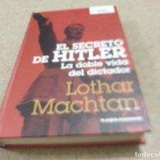 Libros de segunda mano: II GUERRA MUNDIAL......EL SECRETO DE HITLER...LA DOBLE VIDA DEL DICTADOR.....2006..... Lote 221940117
