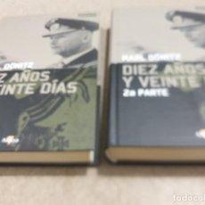 Libros de segunda mano: II GUERRA MUNDIAL.....DIEZ AÑOS Y VEINTE DÍAS...DOS TOMOS.....2008..... Lote 221945198