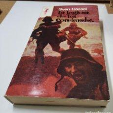 Libros de segunda mano: LIBRO DE SVEN HASSEL EDICION EN ESPAÑOL. 2ª GUERRA MUNDIAL.. Lote 222226545