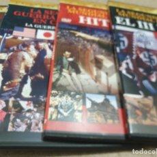 Libros de segunda mano: DVD....SEGUNDA GUERRA MUNDIAL....LA GUERRA EN COLOR...4 DVD'S..... Lote 222372473