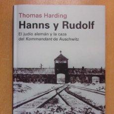 Libros de segunda mano: HANNS Y RUDOLF / THOMAS HARDING / 2014. CIRCULO DE LECTORES. Lote 222548556