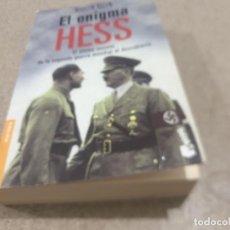 Libros de segunda mano: II GUERRA MUNDIAL......EL ENIGMA HESS.....MARTIN ALLEN....2005.... Lote 222878230
