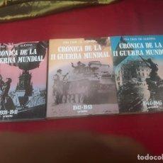 Libros de segunda mano: LOTE: 2194 DIAS DE GUERRA : LA SEGUNDA GUERRA MUNDIAL. - 3 TOMOS.. Lote 222926828