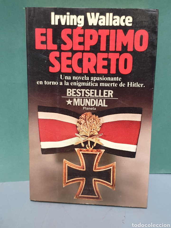 EL SÉPTIMO SECRETO SE IRVING WALLACE EDITORIAL PLANETA PRIMERA EDICIÓN 1986 (Libros de Segunda Mano - Historia - Segunda Guerra Mundial)