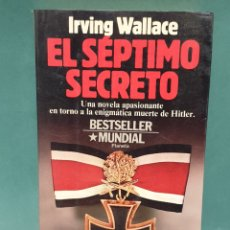 Libros de segunda mano: EL SÉPTIMO SECRETO SE IRVING WALLACE EDITORIAL PLANETA PRIMERA EDICIÓN 1986. Lote 223651632