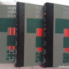 Libros de segunda mano: LOS GRANDES ENIGMAS DE LA OCUPACIÓN. JEAN DUMONT. 3 TOMOS. Lote 224905292