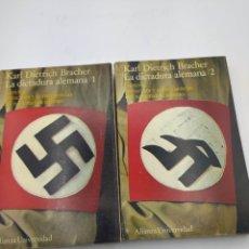 Livres d'occasion: LA DICTADURA ALEMANA KARL DIETRICH BRACHER. Lote 225036610