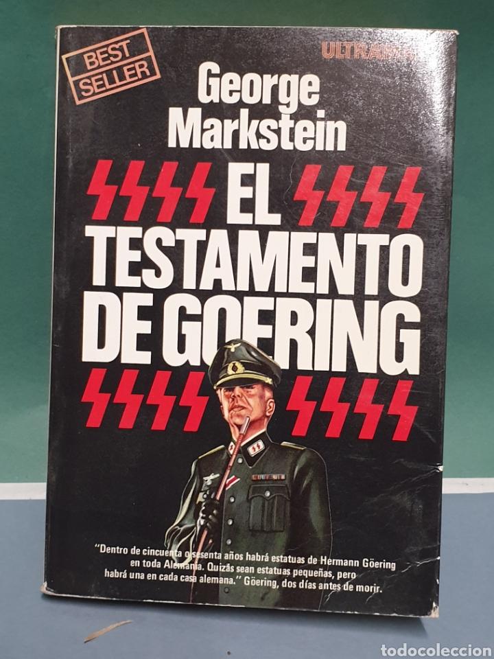 EL TESTAMENTO DE GOFRING DE GEORGE MERKSTEIN ULTRAMAR PRIMERA EDICIÓN 1979 (Libros de Segunda Mano - Historia - Segunda Guerra Mundial)