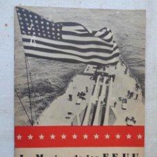Libros de segunda mano: LA MARINA DE LOS E.E.U.U.REF 783. Lote 225962805