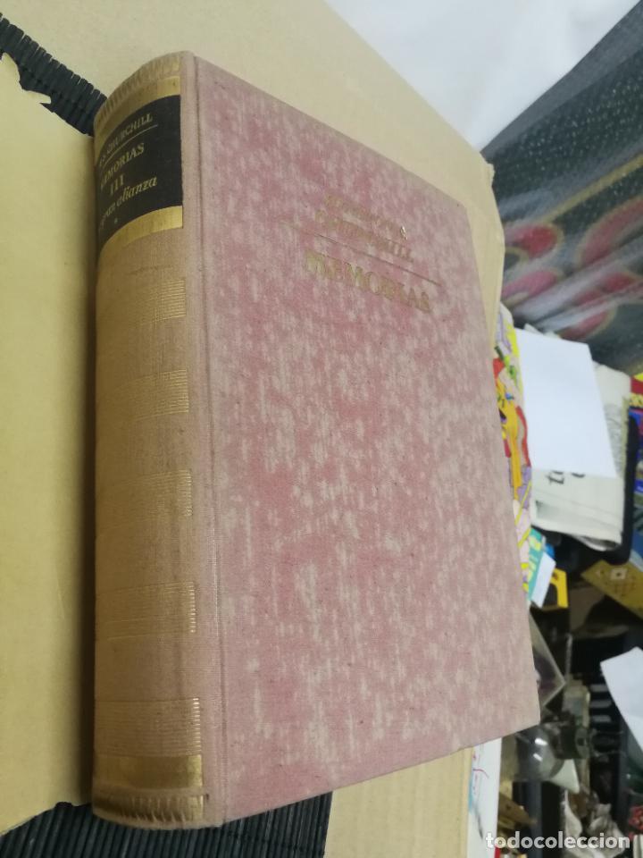 Libros de segunda mano: MEMORIAS LA SEGUNDA GUERRA MUNDIAL DE WINSTON S. CHURCHILL (8 TOMOS) 1ª EDICION 1949 - Foto 11 - 227847245