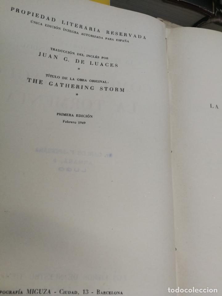 Libros de segunda mano: MEMORIAS LA SEGUNDA GUERRA MUNDIAL DE WINSTON S. CHURCHILL (8 TOMOS) 1ª EDICION 1949 - Foto 15 - 227847245