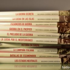 Libros de segunda mano: 10 TOMOS DE LA SEGUNDA GUERRA MUNDIAL- ED. TIME LIFE / FOLIO, 2008.. Lote 228359830
