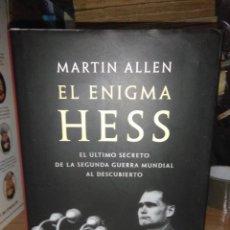 Libros de segunda mano: MARTIN ALLEN.EL ENIGMA HESS.CÍRCULO DE LECTORES. Lote 228987730