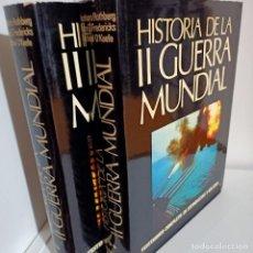Libros de segunda mano: HISTORIA DE LA II GUERRA MUNDIAL, TOMOS I Y II, HISTORIA / HISTORY, CARROGGIO, 1979. Lote 229840575