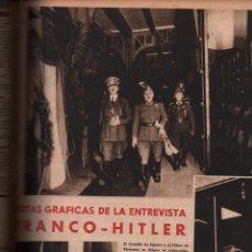 Libros de segunda mano: REVISTA SEMANA NÚMS 25 A 40 - AÑO 1940/41 - FRANCO HITLER GUERRA NAZISMO FASCISMO. Lote 230990240