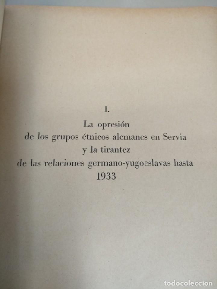 Libros de segunda mano: LIBRO NAZI DOCUMENTOS YUGOESLAVIA Y GRECIA - Foto 3 - 231522970