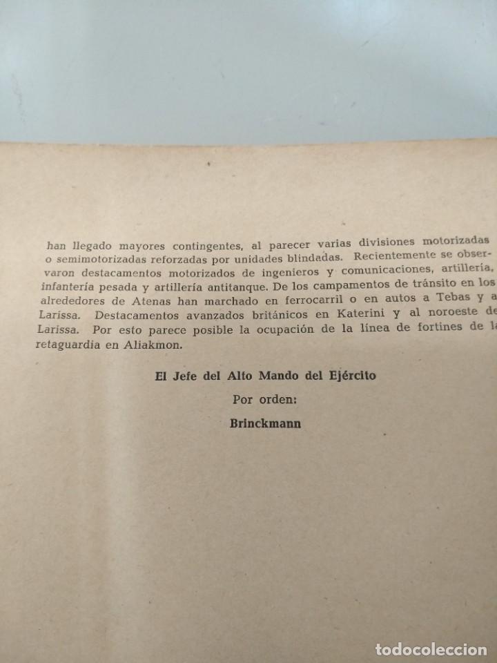 Libros de segunda mano: LIBRO NAZI DOCUMENTOS YUGOESLAVIA Y GRECIA - Foto 4 - 231522970