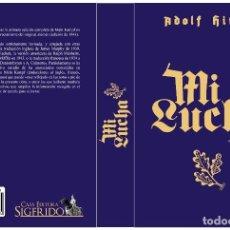Libros de segunda mano: MI LUCHA MEIN KAMPF ADOLF ADOLFO HITLER GASTOS DE ENVIO GRATIS RIENZI. Lote 245263430