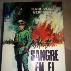 Libros de segunda mano: SANGRE EN EL VOLGA, KARL, VON VEREITER, PRODUCCIONES EDITORIALES 1975.. Lote 233233630