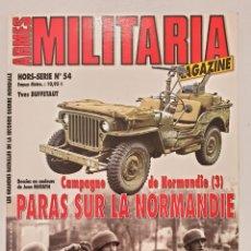 Libros de segunda mano: ARMES MILITARIA MAGAZINE. PARAS SUR LA NORMANDIE. Lote 236534450