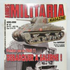 Libros de segunda mano: ARMES MILITARIA MAGAZINE. DEBARQUER A SALERNE!. Lote 236534965