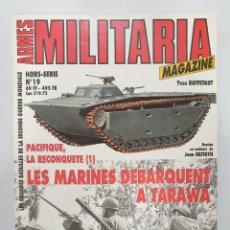 Libros de segunda mano: ARMES MILITARIA MAGAZINE. LES MARINES DEBARQUENT A TARAWA. Lote 236535780