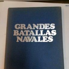 Libros de segunda mano: GRANDES BATALLAS NAVALES LA VANGUARDIA. Lote 236539485