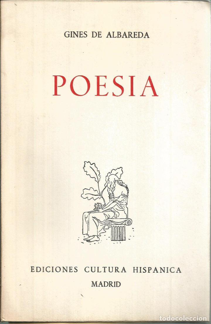 POESÍA. PUBLICADO EN 1967 - GINÉS DE ALBAREDA (Libros de Segunda Mano - Historia - Segunda Guerra Mundial)