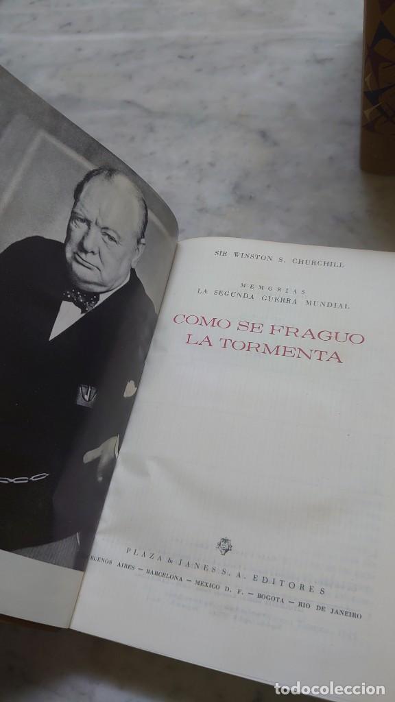 Libros de segunda mano: Prpm 32 OFERTA 6 tomos Memorias segunda guerra mundial. W. Churchill - Foto 3 - 237770670