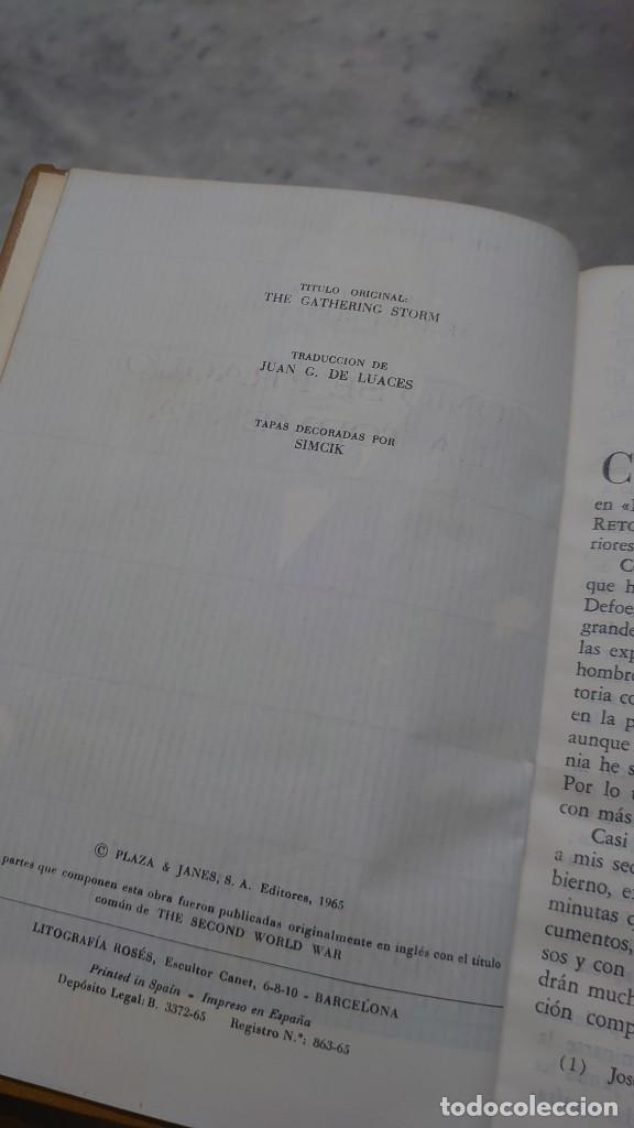 Libros de segunda mano: Prpm 32 OFERTA 6 tomos Memorias segunda guerra mundial. W. Churchill - Foto 4 - 237770670