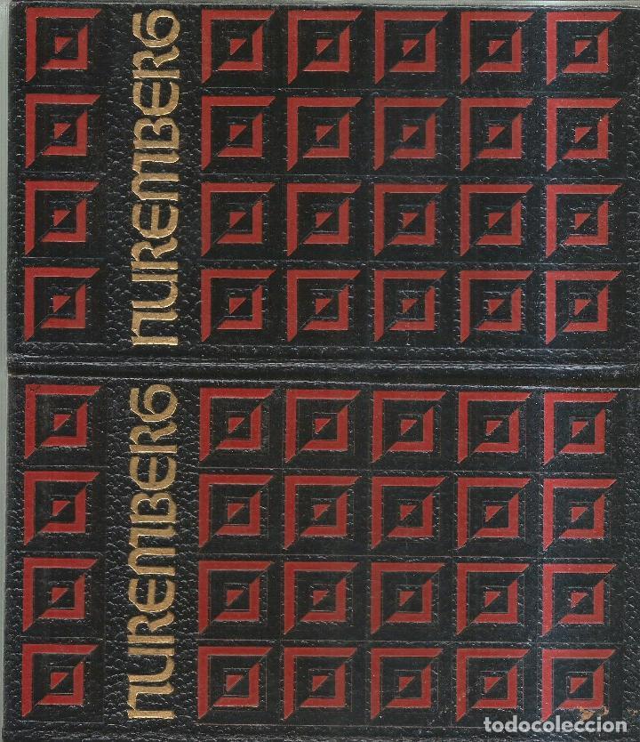 EL PROCESO DE NUREMBERG. TOMOS I Y II. PUBLICADO EN 1969 (Libros de Segunda Mano - Historia - Segunda Guerra Mundial)