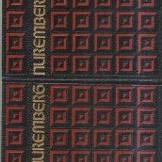 Libros de segunda mano: EL PROCESO DE NUREMBERG. TOMOS I Y II. PUBLICADO EN 1969. Lote 240495560