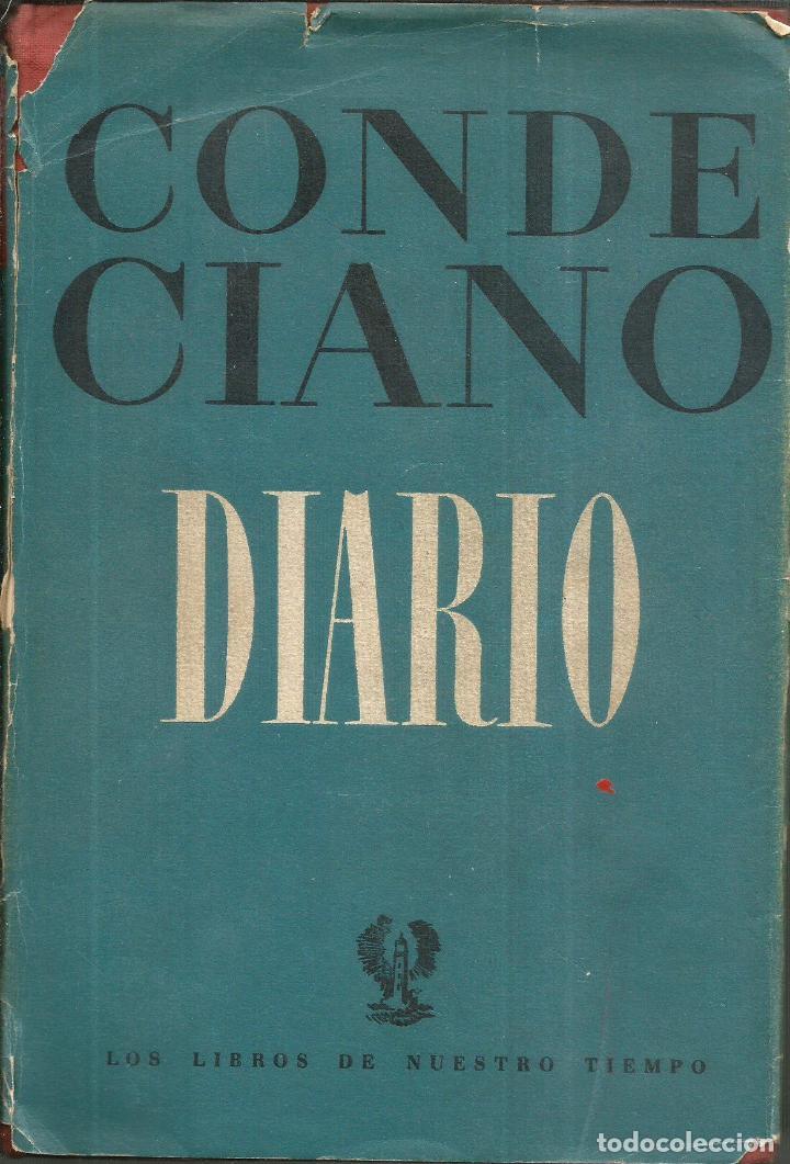 DIARIO. PUBLICADO EN 1946 - CONDE CIANO (Libros de Segunda Mano - Historia - Segunda Guerra Mundial)