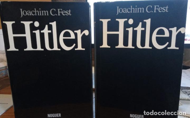 HITLER. TOMO I Y II. PUBLICADO EN 1974 - JOACHIM FEST (Libros de Segunda Mano - Historia - Segunda Guerra Mundial)