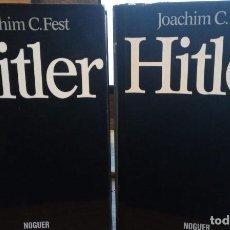 Libros de segunda mano: HITLER. TOMO I Y II. PUBLICADO EN 1974 - JOACHIM FEST. Lote 240495655