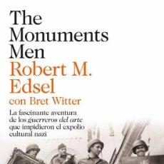 Libros de segunda mano: THE MONUMENTS MEN - ROBERT M. EDSEL.- NUEVO. Lote 242217340