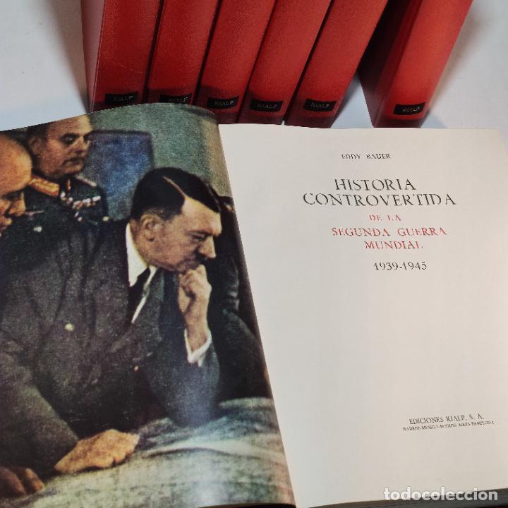 Libros de segunda mano: Historia controvertida de la segunda guerra mundial. Jaspard Polus. Ediciones Rialp. 1967. - Foto 7 - 243437425