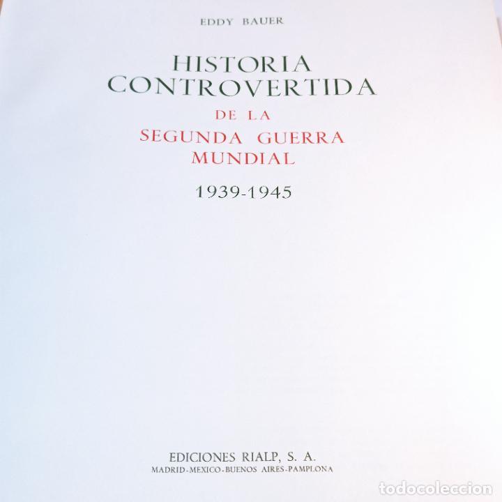 Libros de segunda mano: Historia controvertida de la segunda guerra mundial. Jaspard Polus. Ediciones Rialp. 1967. - Foto 8 - 243437425