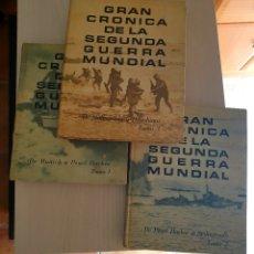 Libros de segunda mano: GRAN CRÓNICA DE LA 2 GUERRA MUNDIAL. Lote 243621240